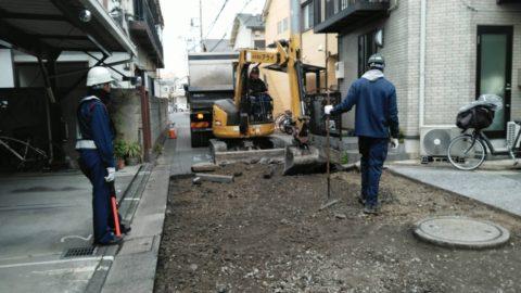 足立区梅島 舗装復旧工事