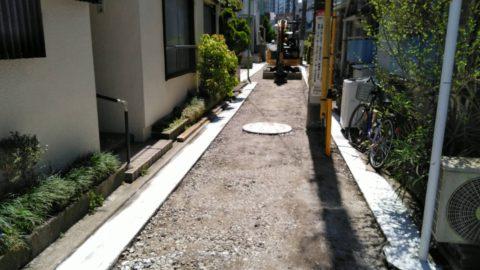 葛飾区新小岩 舗装復旧工事