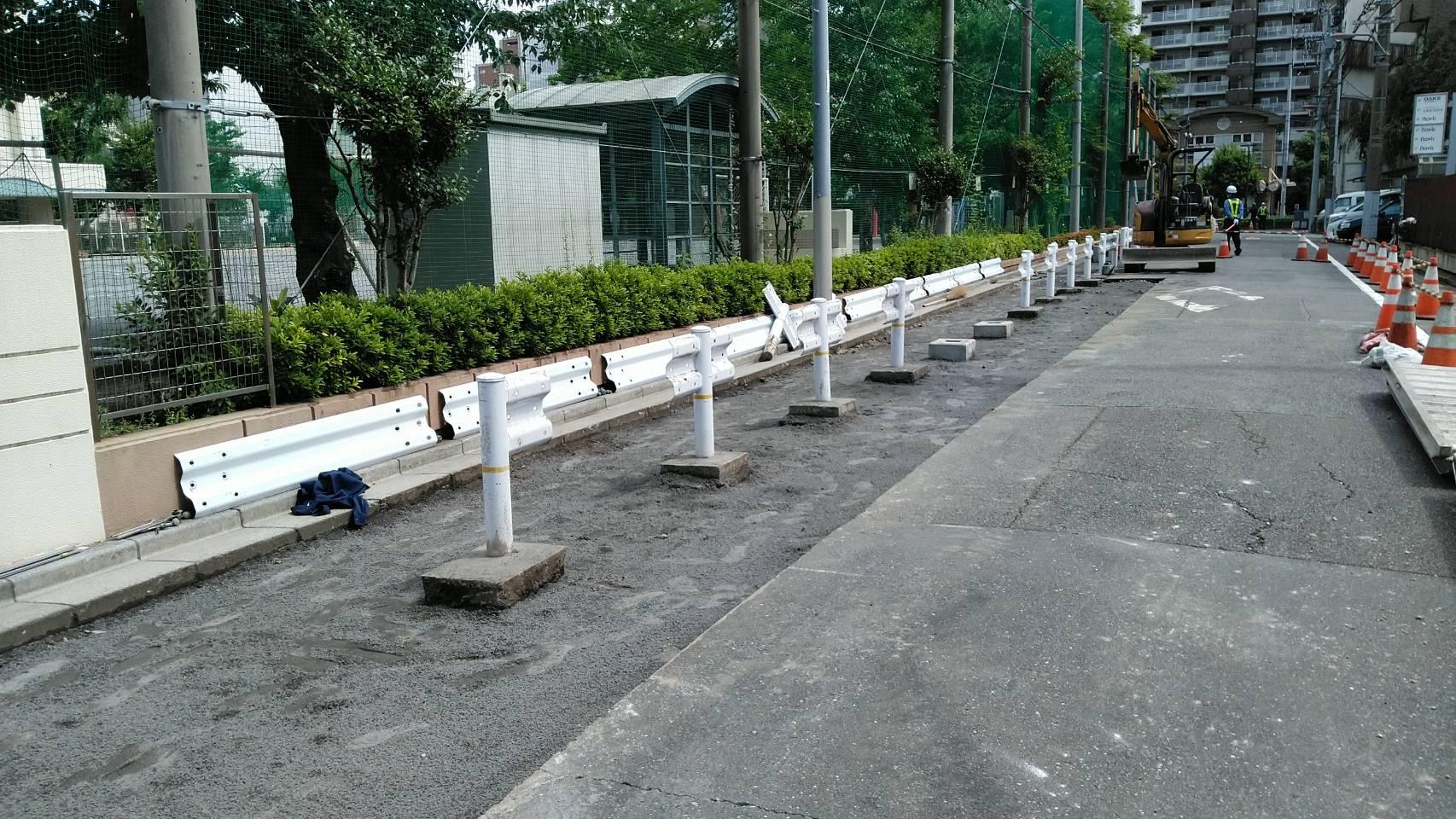 今日の舗装 江東区内 舗装工事