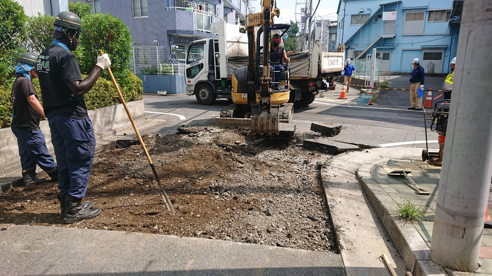 大田区 舗装打換え工事
