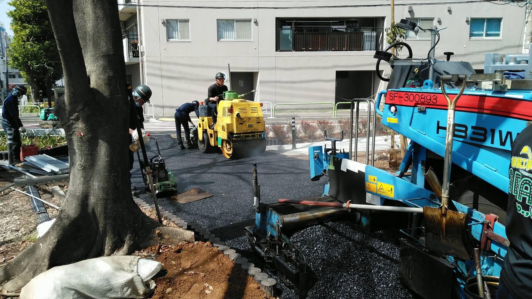 江東区内(公園)舗装工事