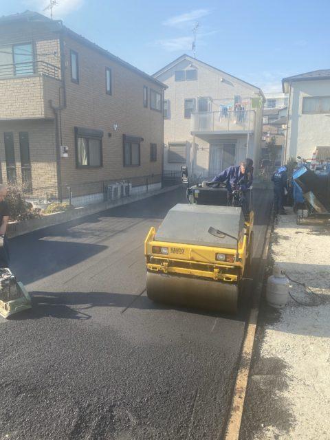 市川市内駐車場舗装工事(その2)