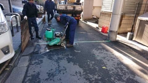 車道舗装工事 (豊島区内)