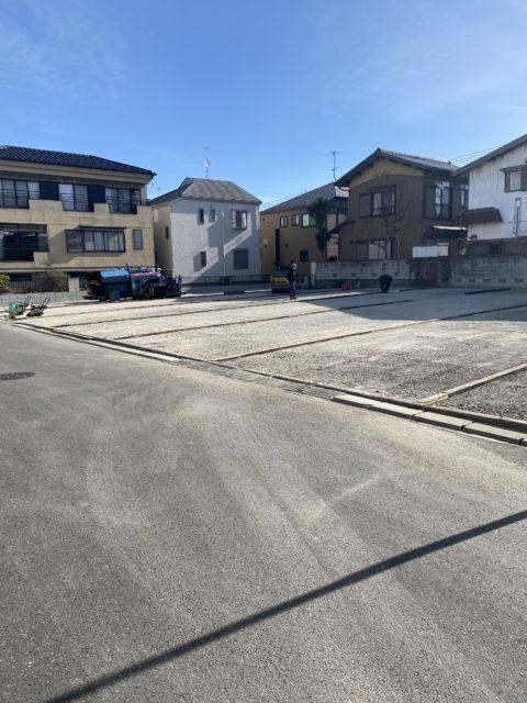 市川市内 駐車場舗装工事(その2)