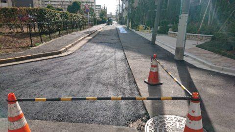 江戸川区西葛西 ガス舗装復旧工事(2日目)