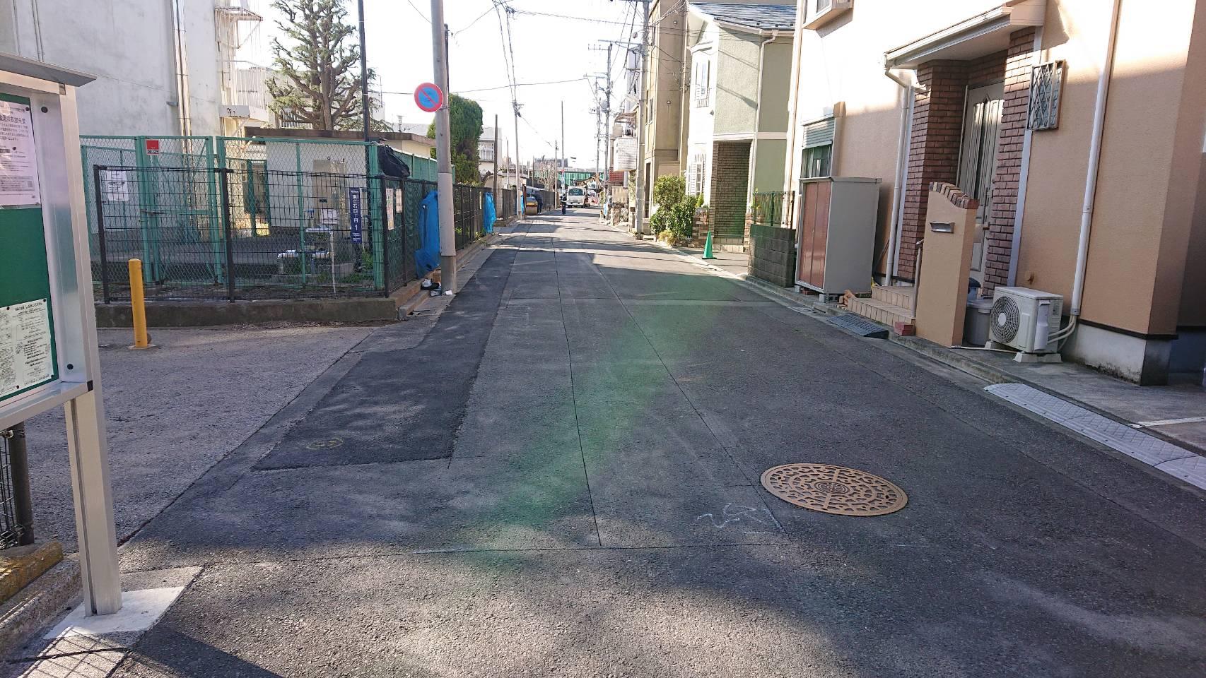 葛飾区内 舗装打ち換え工事
