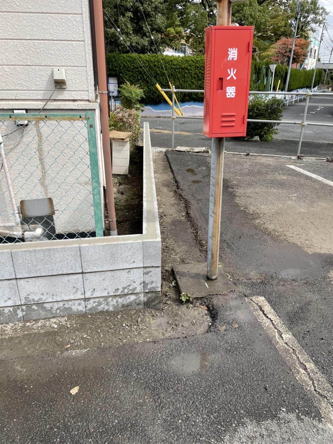 江戸川区篠崎 ブロック工事