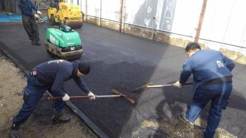 江戸川区瑞江 駐車場舗装工事