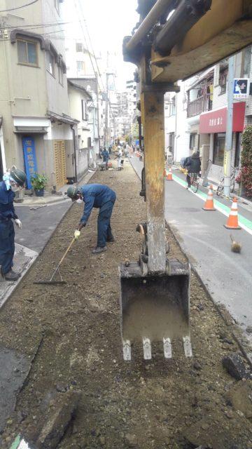 葛飾区新小岩 舗装復旧工事(打換え)