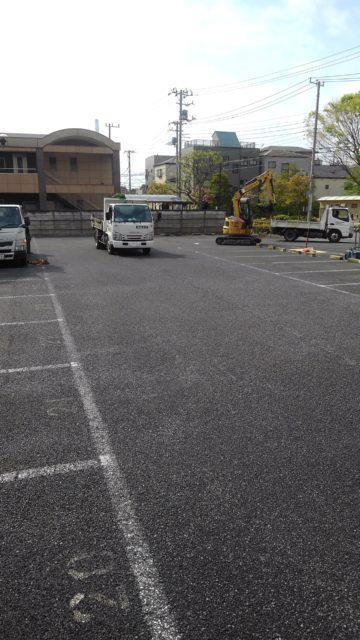 江戸川区南篠崎町 既存舗装撤去工事