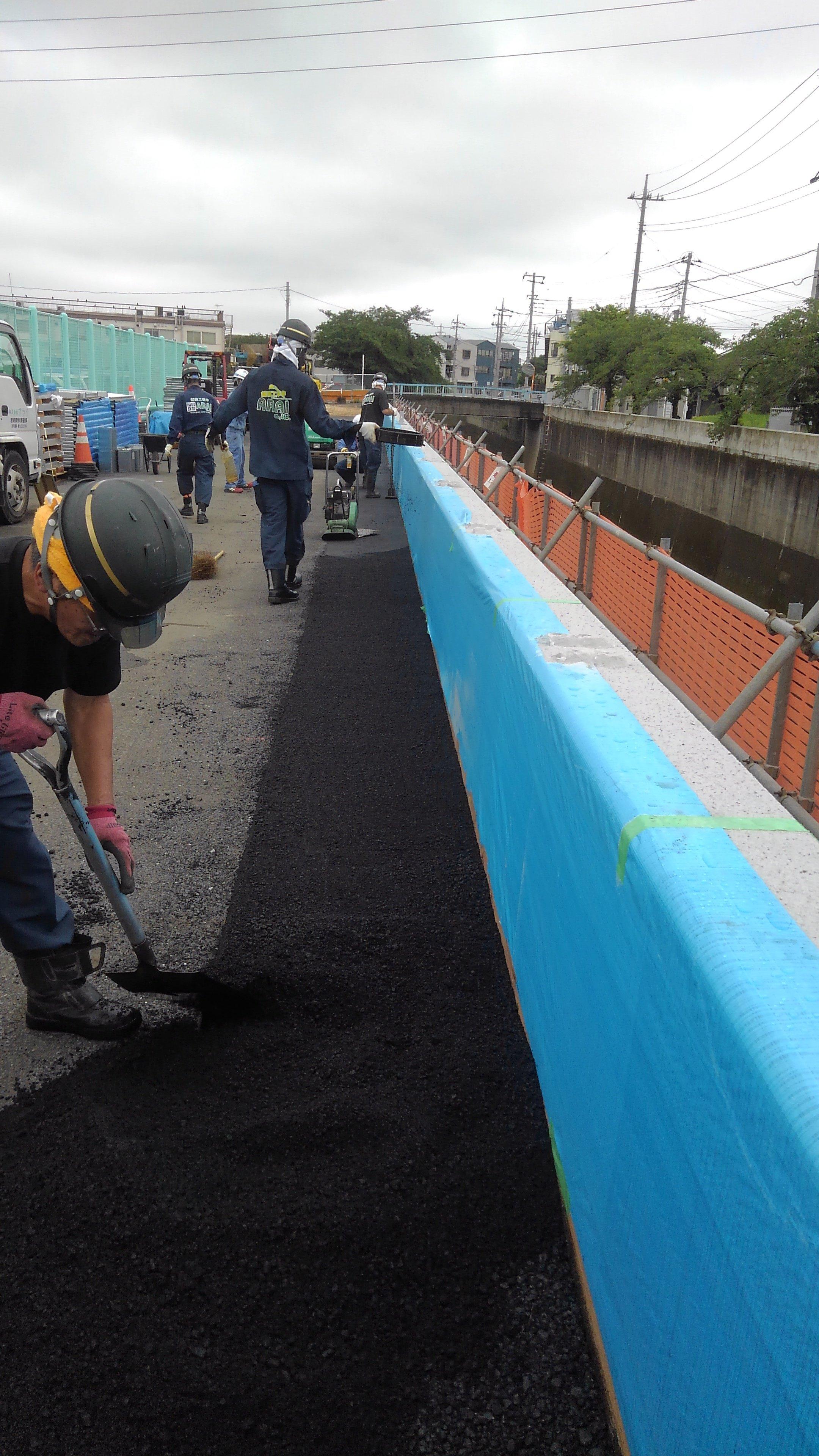 埼玉県和光市内 舗装復旧工事