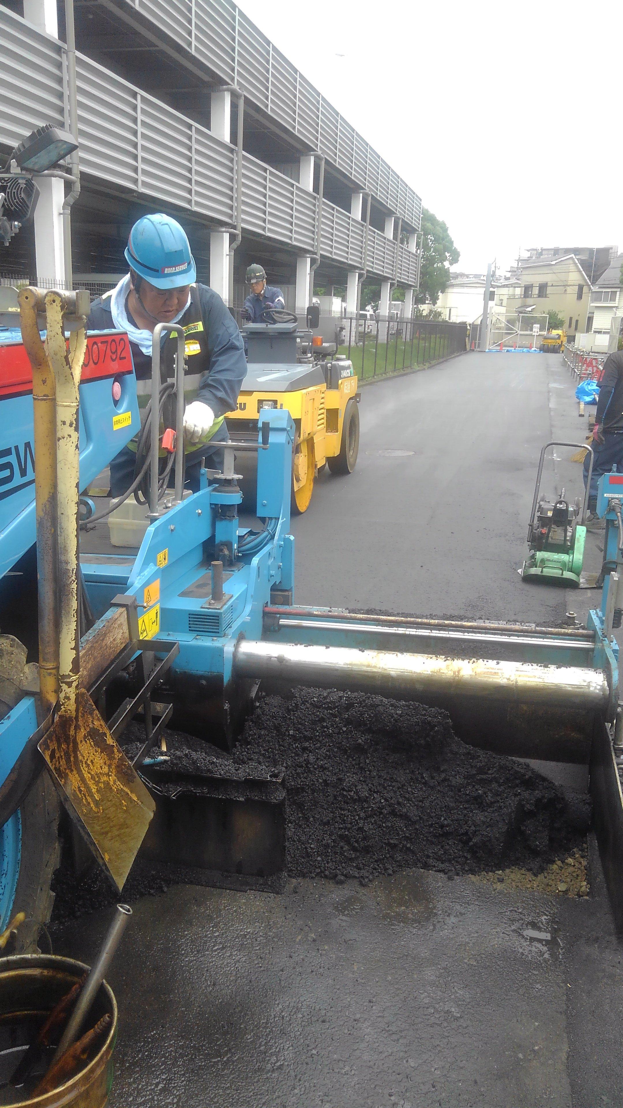 横浜市戸塚区内 舗装工事