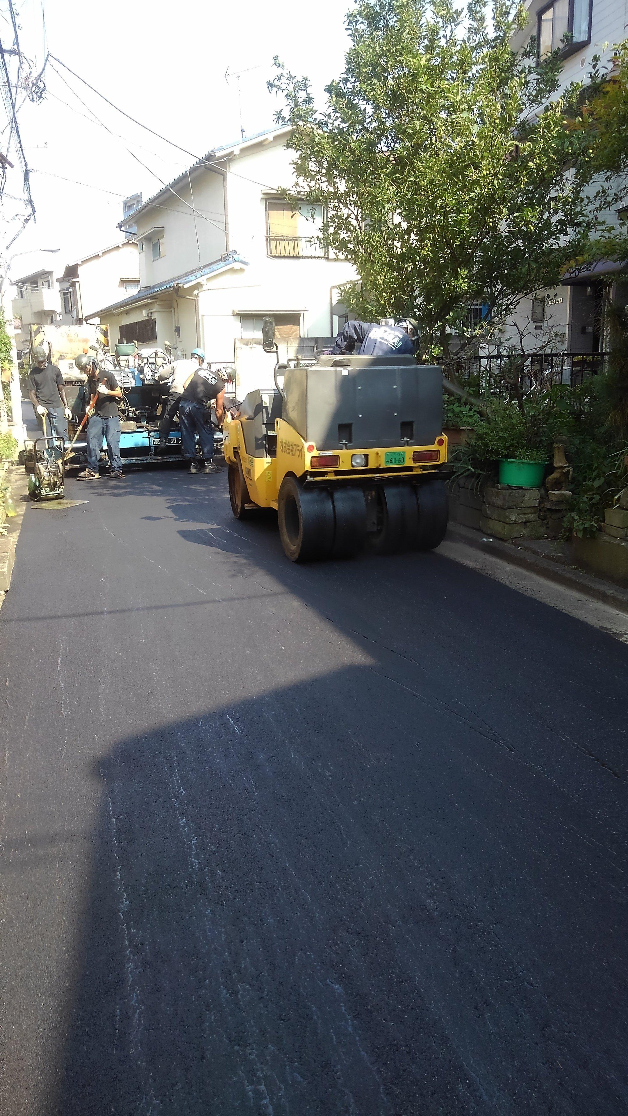 江戸川区東小松川 ガス舗装復旧工事